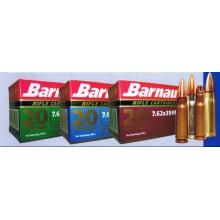 Cartuccia da carabina 7,62x39 125grs SP conf. 20 pezzi (Barnaul)