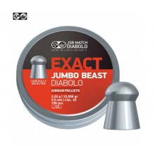 Piombini per aria compressa JSB Jumbo Exact Beast 5,5mm 2,20gr conf.150pz (JSB)
