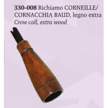 Richiamo Cornacchia Baud in legno extra