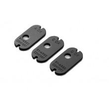 Piastrino serraggio calcio destro e sinistro mm 45 e 60 per Argo (Benelli)