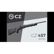 Carabina Bolt Action CZ 457 canna filettata cal.22LR