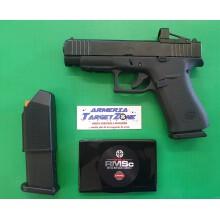 Pistola semiauto Glock 48 R CMOS FS Combo cal. 9x21 + 1 car.