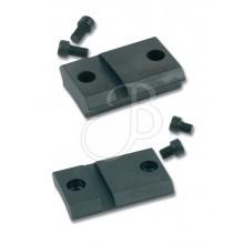 Basi acciaio Maxima Weaver per ottica per Remington 700 (Warne)