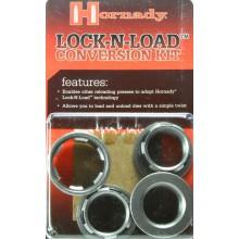 Tre Bushing per Dies + uno convertitore Lock-N-Load - 044099 (Hornady)