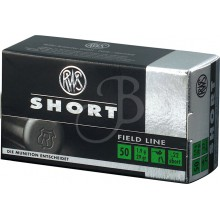 Cartucce cal. 22 Short Standard conf. 50 pezzi (RWS)