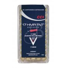 Cartuccia CCI CAL.17 HMR 17GR TNT 0053