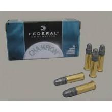 Munizione Federal cal. 22LR TARGET STANDARD 40gr 50 pezzi
