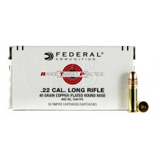 Munizione Federal RPTCPRN Target Rifle cal. 22 LR ramata 40gr - 50 pezzi