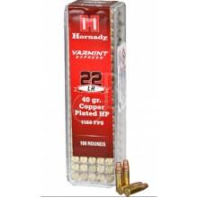 Munizione Hornady cal. 22LR HP ramate 40gr 100 pezzi