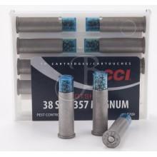 Munizione 38 SP a pallini conf. 10 pezzi (CCI)