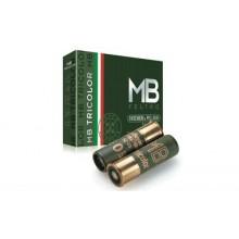 Cartuccia MB Tricolor cal. 12 - 70 - 36g Pallino 5 - 10 pz (B&P)