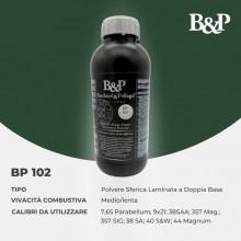 Polvere BP102 per pistola e revolver - doppia base Kg 0,5 (B&P)