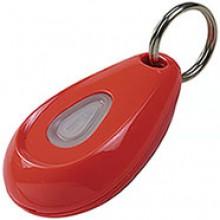 Dispositivo ad ultrasuoni ovale arancione fluo per cani (ZeroBugs)