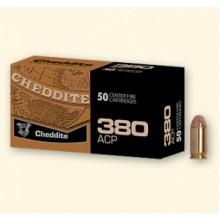 Cartuccia per pistola 380ACP - 9 Corto 100gr Ramata 50 pezzi (Cheddite)