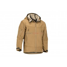 Giubbetto Harpagus Softshell Hoody Coyote Tg. L (Claw Gear)