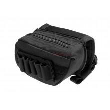 Stock Pad tasca per fucile con cerniera e porta colpi Nero (Invader Gear)