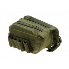 Stock Pad tasca per fucile con cerniera e porta colpi OD (Invader Gear)