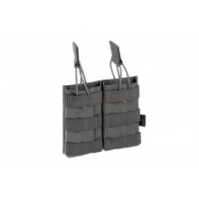 Tasca Doppia 5.56 2x Double Direct Action Mag Pouch Wolf Grey (Invader Gear)