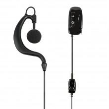 Cuffia microfono con interruttore vox/ptt ad L WA21 C1201 (Midland)
