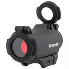 Punto rosso Aimpoint Micro H2 ver. 2 MOA o 4 MOA +weaver 200185 (AimPoint)