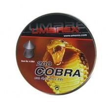 Piombini Cobra a punta cal. 5,5mm 1,02gr 200pz (Umarex)