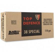 Munizioni cal. 38 Special Black Mamba FMJTC 110g 50 pezzi (Fiocchi)