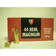 Munizioni cal. 44 Magnum LSWC 200g conf. 50 pezzi (Fiocchi)