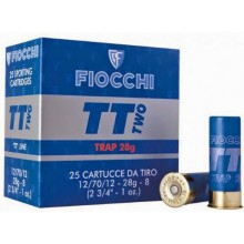 Cartucce cal. 12 12/70/12 28g Piombo 7,5 TT Two (Fiocchi)