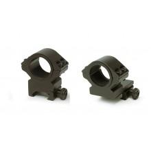 Anelli attacchi ottica DUAL-T Weaver Picatinny 25-30mm (Konus)