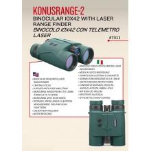 Binocolo Telemetro KonusRange-2 10x42 (7311)