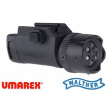 Laser e Torcia a 6 led Ris Night Force (Walther)