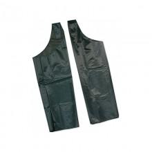 Cosciale scudo 2 pezzi in nylon impermeabile pesante verde Tg. 2