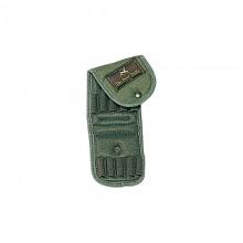 Borsello cartuccera per carabina elastica verde (CBC)