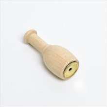 Richiamo allodola imbuto in legno