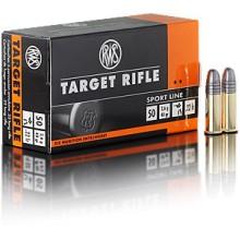 Munizione cal. 22LR RWS Target Rifle conf. 50 pezzi (RWS)