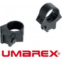 Attacchi Umarex Hig-Power professionali per ottiche - Tubo 25 - Slitta 11mm - Ba