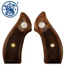 Guancette Smith & Wesson in legno J frame Square Dymondwood