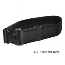 Cinturone in cordura altezza 6mm varie misure Nero (Cytac)