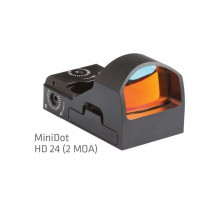 Punto rosso Mini Red Dot HD24 (Delta Optical)