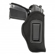 Fondina int. materiale sint. antiscivolo - clip polimero Glock 43 e similari