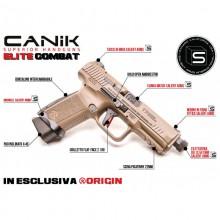 Pistola Canik TP9 Elite Combat Desert cal. 9x21+ Fondina (Canik)