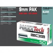 Munizione a salve 9MM conf. 50 pz. (Maxxtech)